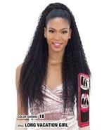 Model Model Drawstring Ponytail Curly Long Synthetic Hair - Long Vacatio... - $14.95