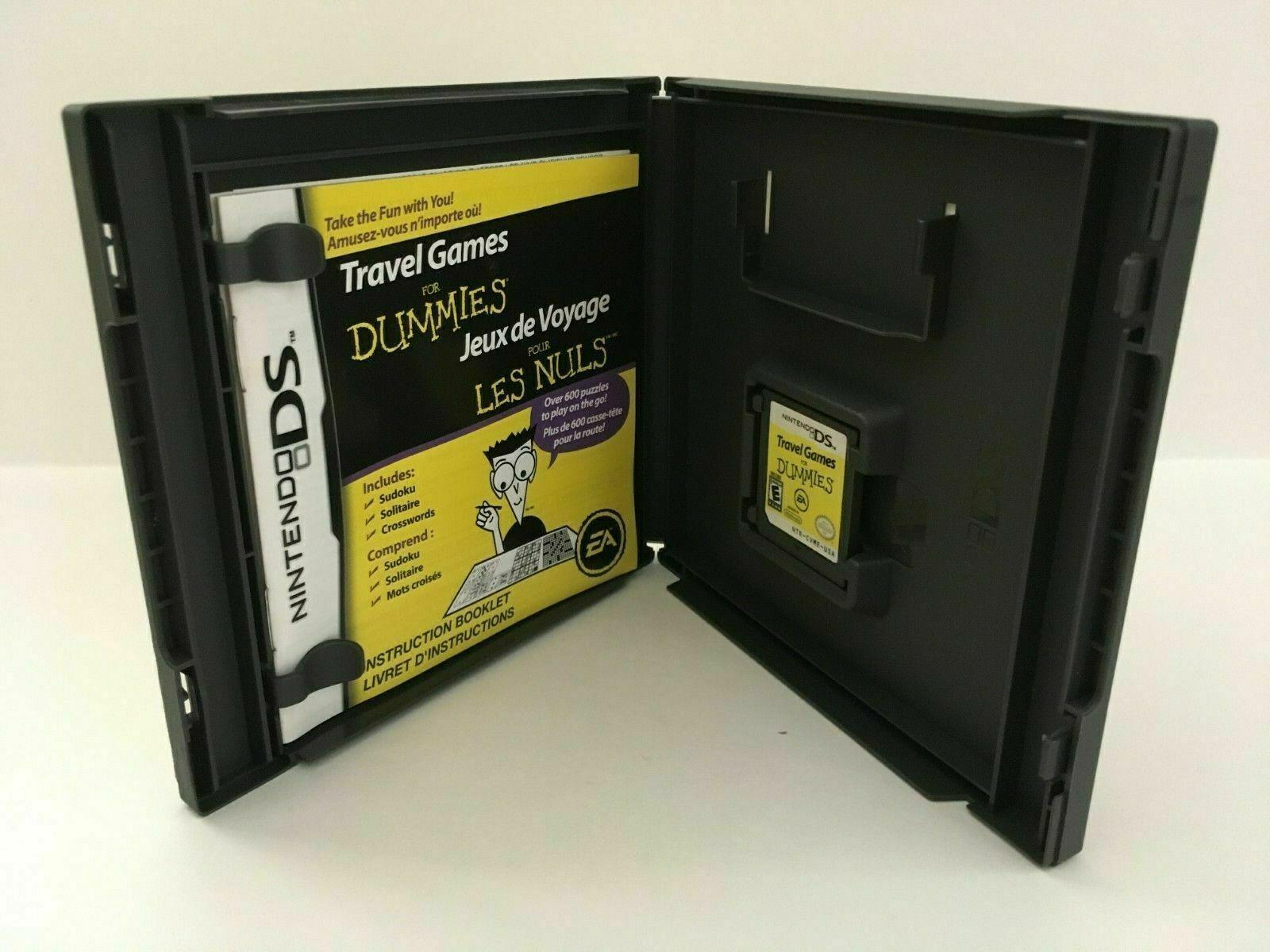 Travel Games For Dummies (Nintendo DS, 2008) CIB, USA SELLER image 4