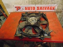 06 05 Saab 9-2 9-2x oem 2.5 right side radiator cooling fan motor & shroud - $39.59