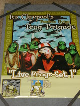Les Claypools Flying Frog Brigade Double-Sided Promo Poster Bogarts Cinc... - $20.00