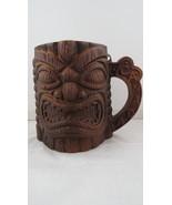 Vintage Tiki Mug - Mug Fierce Ku and Maple Leaf Back - Banff Canada Souv... - $35.00