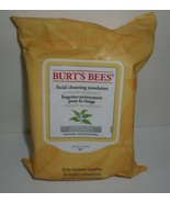 Burt's Bees Facial Cleansing Towelettes White Tea Extract Normal Skin 30... - $26.17