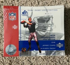2001 Upper Deck SP Game Used NFL Football Factory Sealed Hobby Box - $164.33