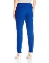 Anne Klein Women's Cotton Pique Pant Mariner 4 (4, Mariner) - $39.11