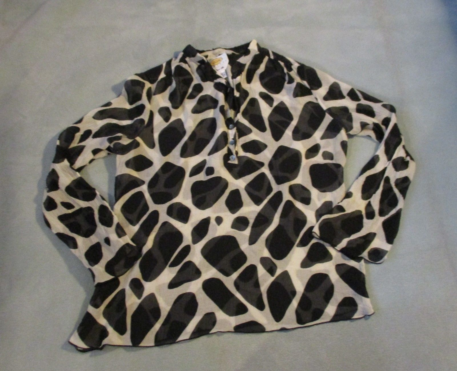c3a94c7e2a841d Talbots Womens Blouse Petite Size 10 Sheer and 50 similar items. 57