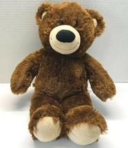 "Build A Bear Plush Brown Tan Classic Teddy Bear BAB 2009 Stuffed Animal 15""  - $14.95"