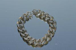True Vtg NAPIER Heavy Link stainless steel Bracelet ''NICE'' image 3