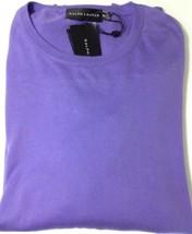 RALPH LAUREN Homme Coton Tricot Couleur violet. Noir étiquette taille XXL - $158.44