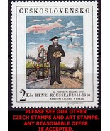CZECHOSLOVAKIA 1967 HENRI ROUSSEAU PAINTING MNH (WE HAVE M/S ALSO - $1.29
