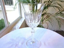 3 Bormioli Rocco Classic 1 Aida Pattern Clear Crystal Wine Glasses - $24.75
