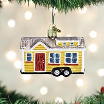 OLD WORLD CHRISTMAS TINY HOUSE PETITE MOBILE HOME CHRISTMAS ORNAMENT 20106 - $17.88