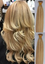 """18"""",22"""" 100grs,100s,U Tip (Nail Tip) Fusion Remy Human Hair Extensions #27/613  - $98.99+"""
