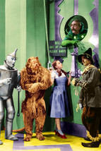 Ray Bolger, Judy Garland, Jack Haley and Bert Lahr in The Wizard of Oz c... - $23.99