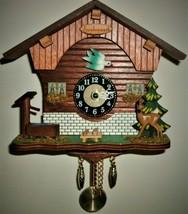 Kuckulino Quartz Novelty Cuckoo/Westminster clock,Cuckoo clock shop item - $49.00