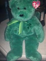 Ty Beanie BUDDY Dublin Bear BUDDIE NEW w Tag Free Shipping - $8.75