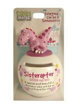 John Hinde DM Sisteraptor Piggy Bank - $10.39