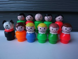 Vintage Fisher Price Little People Dad Mom Girl Boy Figures You Choose - $2.99+