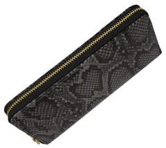 New Ladies Snake Print Zip Around Womens Wallet 126-11876-6 (C) - $9.99