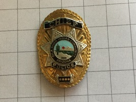 Chief Gila River Indian Community Arizona Police Badge - $285.00