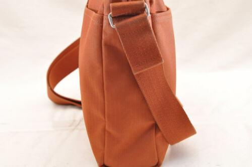HERMES Acapulco Besace Coton Leather Orange Shoulder Bag Auth 5186 image 5