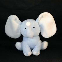 "2005 Burton + Burton Blue Baby Elephant Plush Stuffed Animal Lovey 7"" - $9.90"