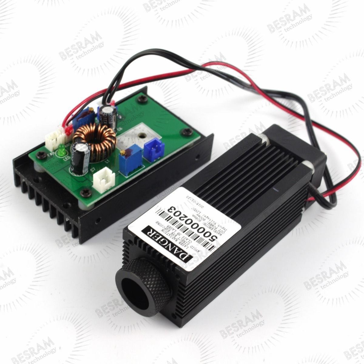 Focusable 1.6W 980nm IR Infrared Laser Diode Module w/TTL