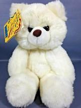 PRESTIGE Teddy Bear Big Foot Plush White Stuffed Animal Lovey Baby Toy 8... - $33.25