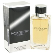 SILVER SHADOW by Davidoff EDT SPRAY 1.7 OZ - $44.90