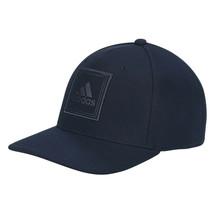 Adidas Mens Golf Cap Snapback Square Deboss Mid Fit Hat DX5090 - Collegi... - $32.35