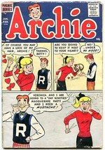 Archie #90 1958- Betty & Veronica- Mustache gag cover F/G - $25.22