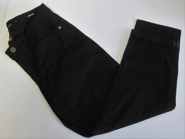 Calvin Klein Jeans Women's Skinny Crop Pants- Black Size: 8 - $24.74