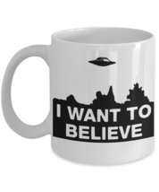 I Want To Believe World UFO Day Coffee Mug - $15.99