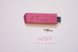 Sony DSC-W310 Digital Camera Door Replacement Part Red - $4.99