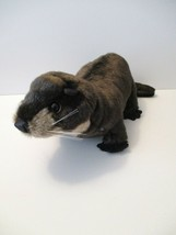 """Folkmanis 20"""" Brown River Otter Plush Full Body Hand Puppet Movable Mouth - $15.00"""