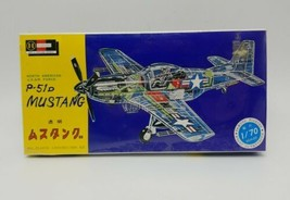 Hasegawa 1/70 Scale WWII US Air Force P-51D Mustang Clear Airplane Model... - $59.28