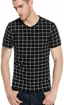 COOFANDY Mens Shirt Sleeve T-Shirts Slim Fit Contrast Color Stitching Ca... - $27.55+