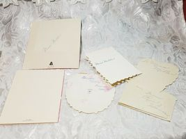 5 Old Vintage Be My Valentine Cards - Great Asst And Color, Check Out The Photos image 6