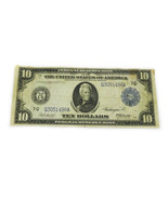 FR-928 1914 Series $10 Federal Reserve Note 7G Chicago F - £215.68 GBP