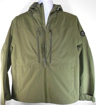 TIMBERLAND A1PT3-H08 MEN'S MILITARY OLIVE WATERPROOF HOODED JACKET SZ L. - $81.39