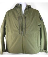 TIMBERLAND A1PT3-H08 MEN'S MILITARY OLIVE WATERPROOF HOODED JACKET SZ L. - $82.49
