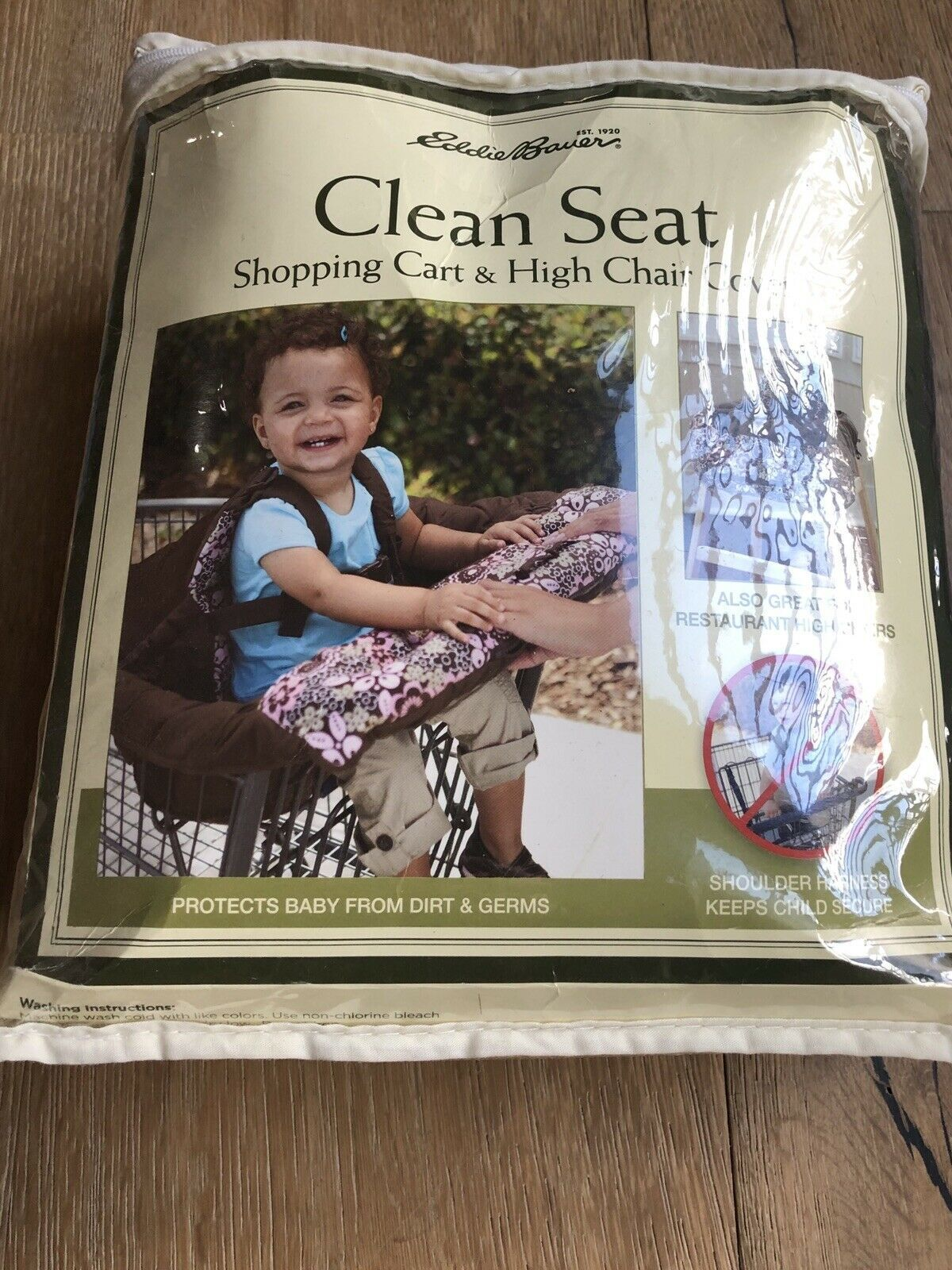 Primary image for high chair/ Shopping Cart Cover New In A Packaging