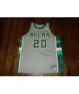 Vintage Nike Gary Payton #20 Milwaukee Bucks NBA Jersey Size XXL  - $74.24