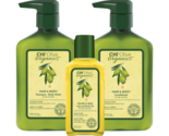 CHI Olive Organics Trio Hair  Body Shampoo Conditioner Oil Body Wash 11.5 oz