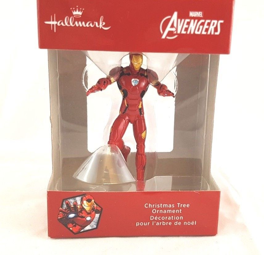 Primary image for Hallmark Ornament Red Box Marvel Avengers Ironman NIB New