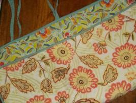 Pottery Barn Organic Scallop Euro Pillow Sham European Quilted Multicolor EUC - $29.67