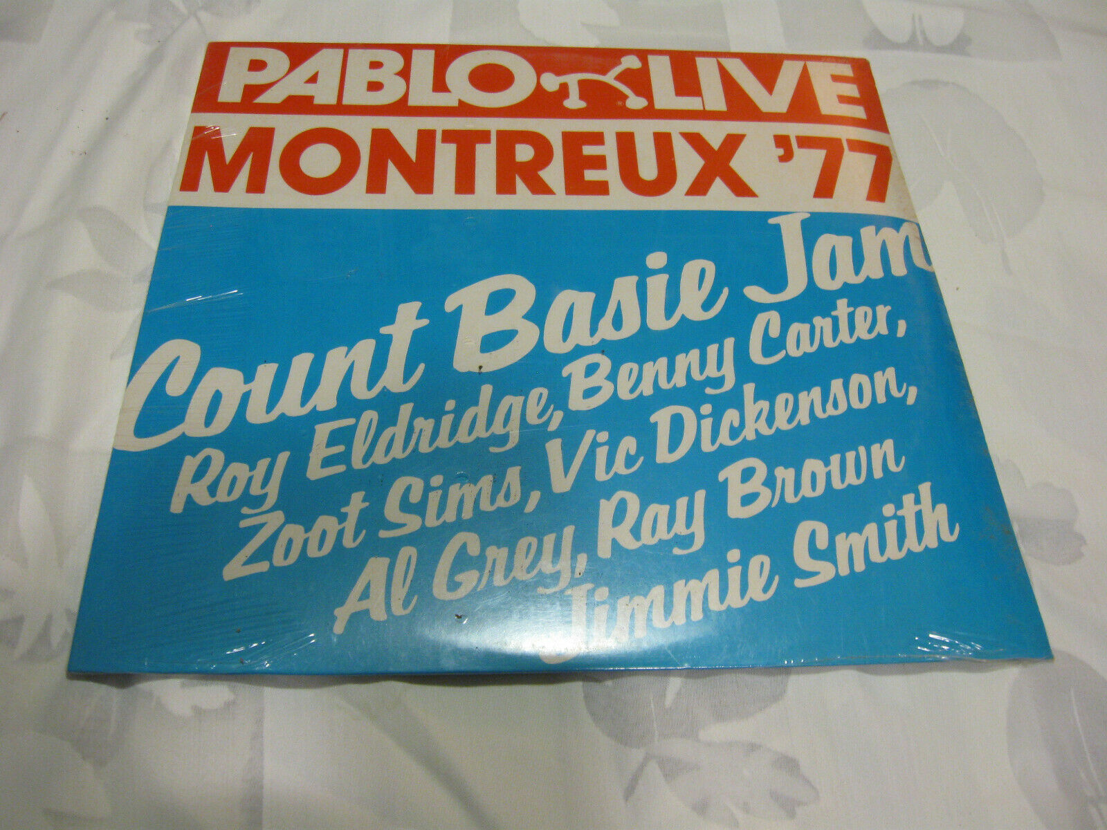 Count Basie Jam Montreux 77 Pablo 2308 239 Stereo Vinyl Record LP Jazz SEALED