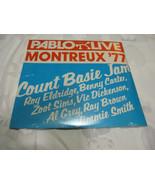 Count Basie Jam Montreux 77 Pablo 2308 239 Stereo Vinyl Record LP Jazz S... - $34.99
