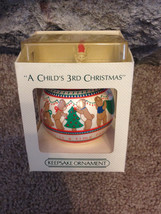 Vintage 1984 A Child's 3rd Christmas Hallmark G... - $10.00