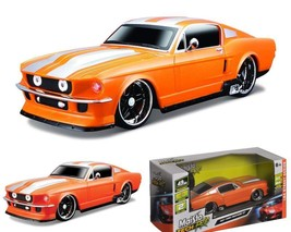 Maisto R/C 1:24 Scale 1967 Ford Mustang Gt Radio Control Vehicle (Colors... - $35.11