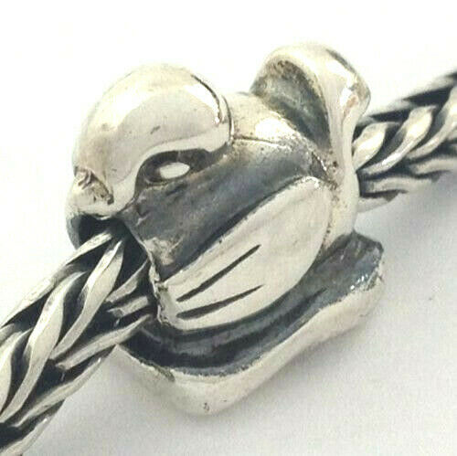 Primary image for Authentic Trollbeads Sterling Silver Duckling Bead Charm 11229, New